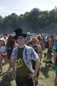 Me at the 4/20 Celebration at the University of Santa Cruz, 2009.