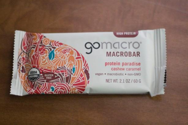 Post 13 - GoMacro Caramel Cashew