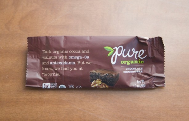 Post 15 - Pure Bar Chocolate Brownie