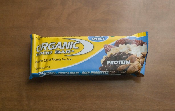Post 17 - Organic Food Bar Protein