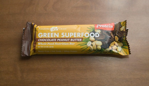 Post 24 - Amazing Grass Chcolate Peanut Butter